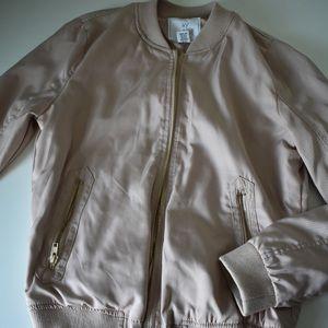 Tilly's Blush Bomber Jacket